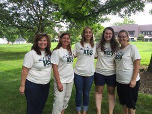 Teaching Science Outdoors 2016: Jen Carey (Bullock Creek), Tina Pretzer (Bullock Creek), Jennifer Glabach (Battle Creek), Shannon Yaroch (Battle Creek), Becky Hattner (Summit Academy North)