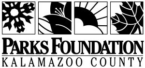Logo for Kalamazoo County Parks Foundation and Kalamzoo River Valley Trail