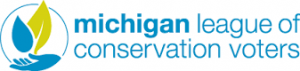 Logo for Michigan League of Conservation Votes