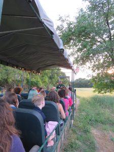 Wagon rides at the Pasture Dairy