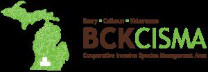 Logo for Barry, Calhoun and Kalamazoo Cooperative Invasive Species Management Area