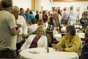 KBS Volunteers enjoy food and conversation at the KBS Volunteer Recognition Dinner
