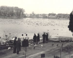 Guests at the Sanctuary in 1949