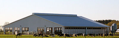 Photo of Pasture Dairy Barn at Kellogg Farm