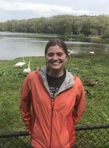 Intern Grace B. visiting the Kellogg Bird Sanctuary