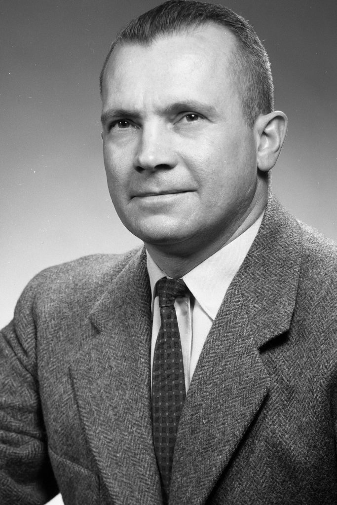 Black-and-white portrait of George H. Lauff.