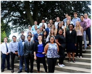 Group photo of the 2019 summer undergraduate research cohort.